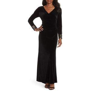 Vince Camuto Sequin Velvet formal Dress 20W NWT